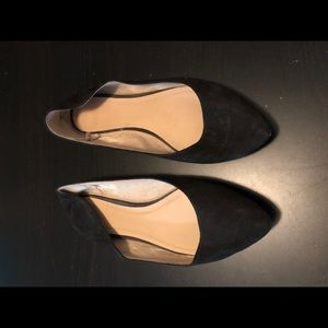 Black Pointed Old Navy Ballet Flats, Size 11